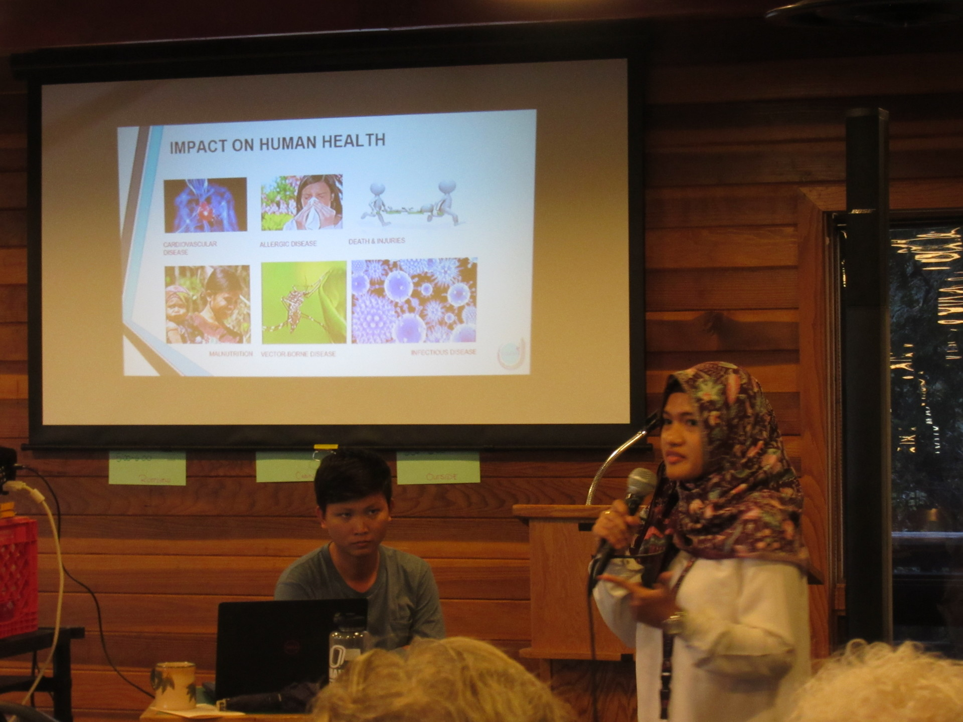 Arifah Nur Shadrina shares the impacts of a changing climate for her homeland of Indonesia
